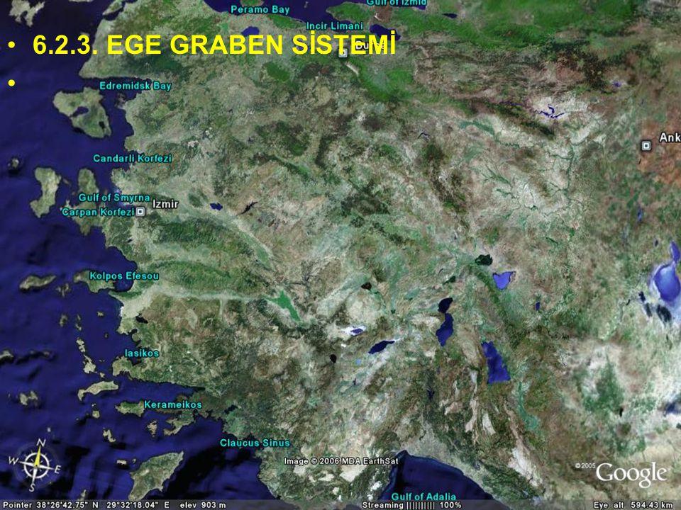 NEOTEKTONİK Doç.Dr. Yaşar EREN 6.2.3. EGE GRABEN SİSTEMİ