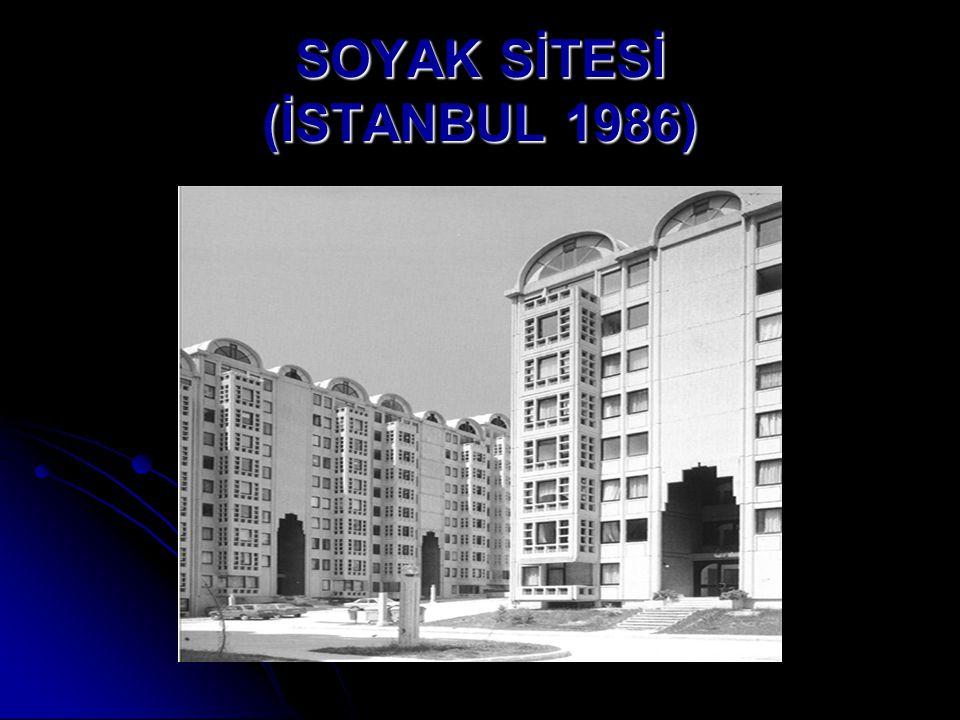 SOYAK SİTESİ (İSTANBUL 1986)