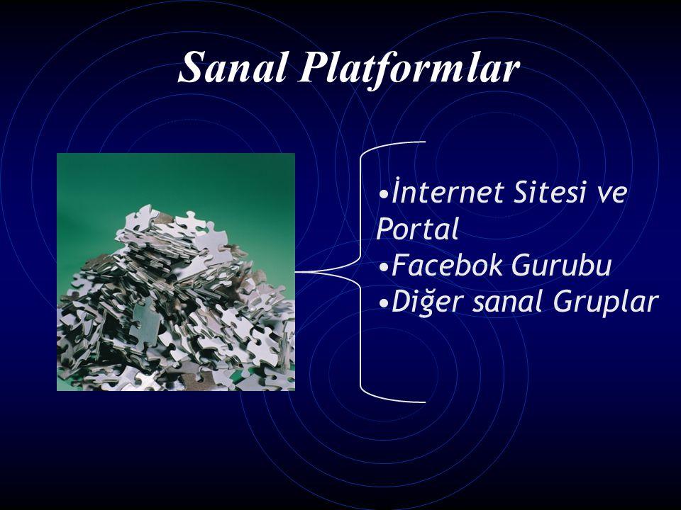 İnternet Sitesi ve Portal Facebok Gurubu Diğer sanal Gruplar