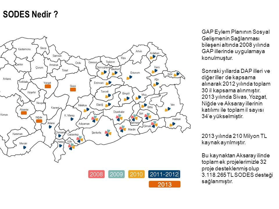 2013 GAP Eylem Planının Sosyal Gelişmenin Sağlanması bileşeni altında 2008 yılında GAP illerinde uygulamaya konulmuştur. Sonraki yıllarda DAP illeri v