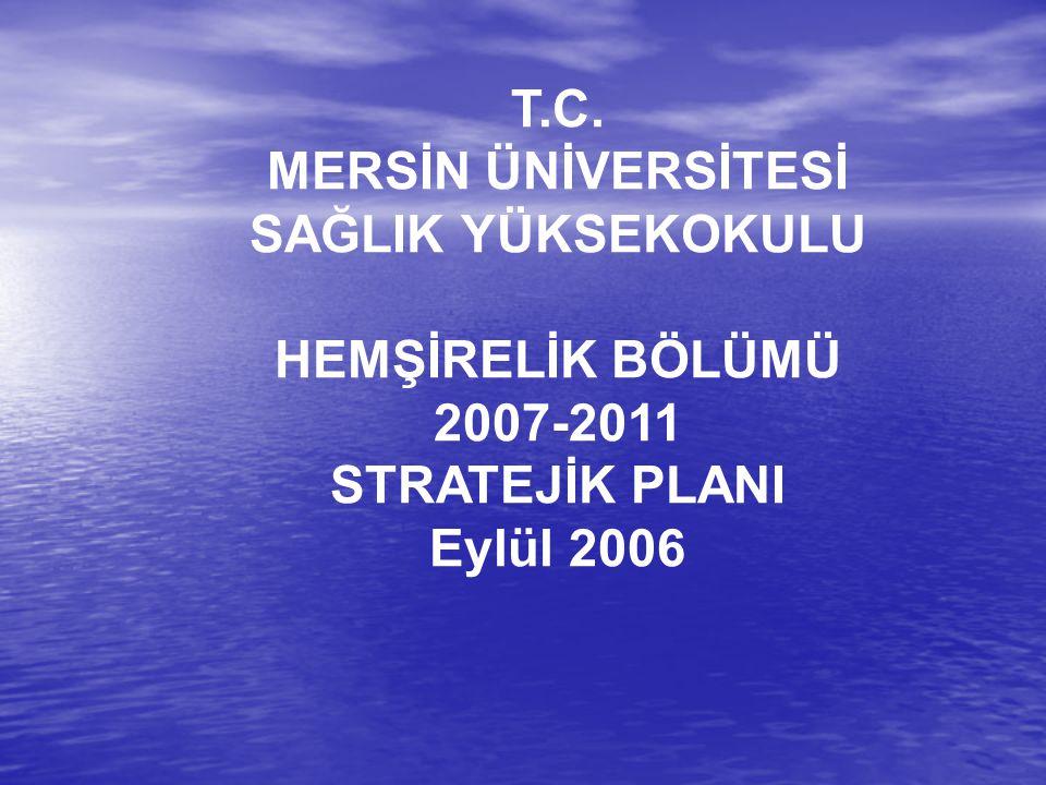 ÖNSÖZ3 1.GENEL BİLGİLER4 1.1. Tarihçe4 1.2. Eğitim Öğretim Programı4 2.