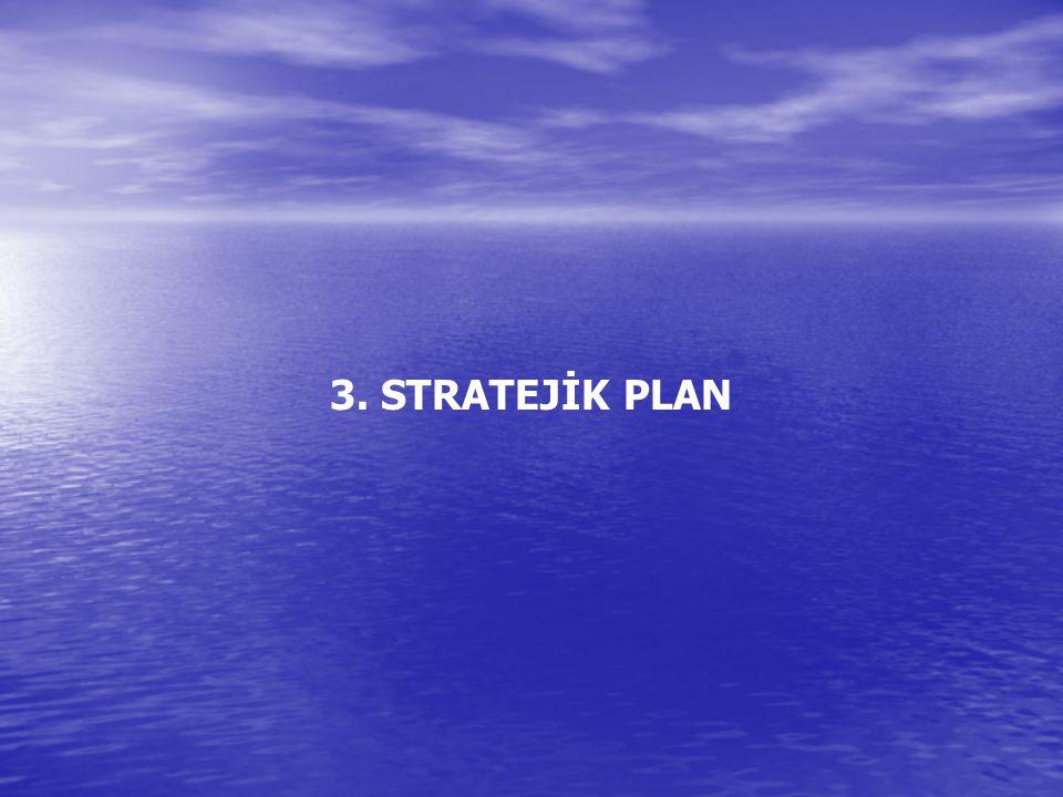 3. STRATEJİK PLAN