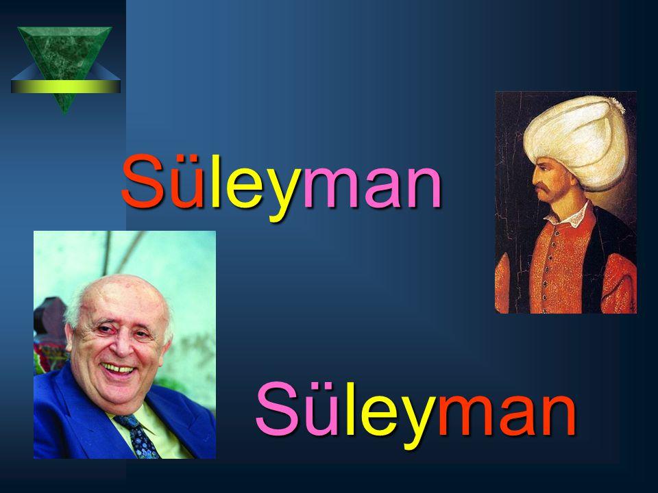 Süleyman Süleyman