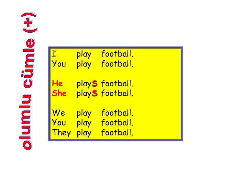 Iplayfootball. Youplayfootball. HeplaySfootball. SheplaySfootball. Weplayfootball. Youplayfootball. Theyplayfootball.