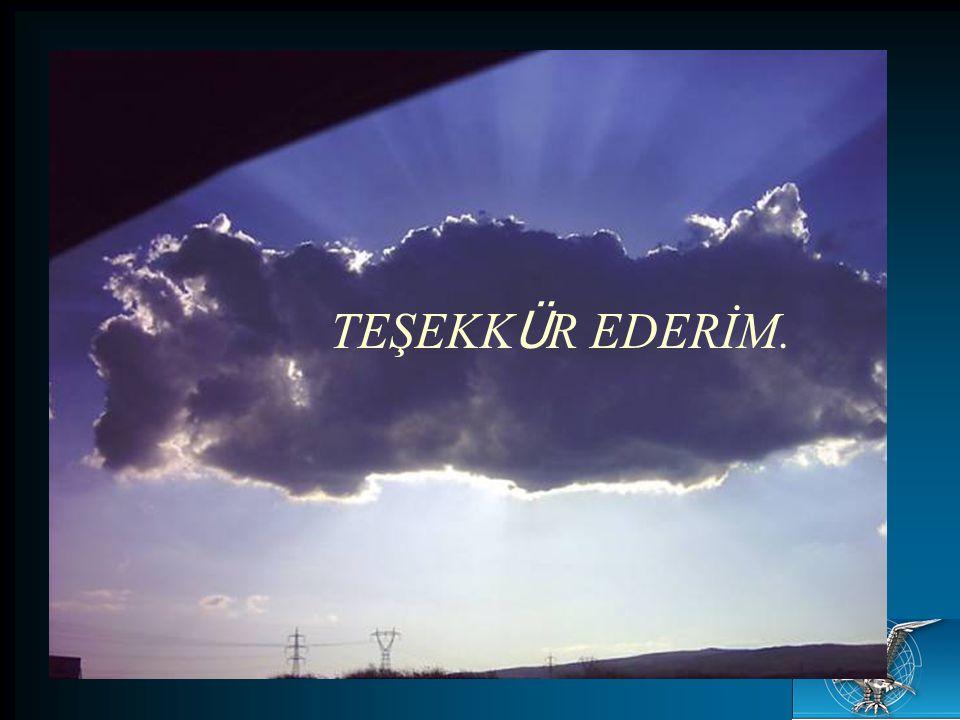 TEŞEKK Ü R EDERİM.