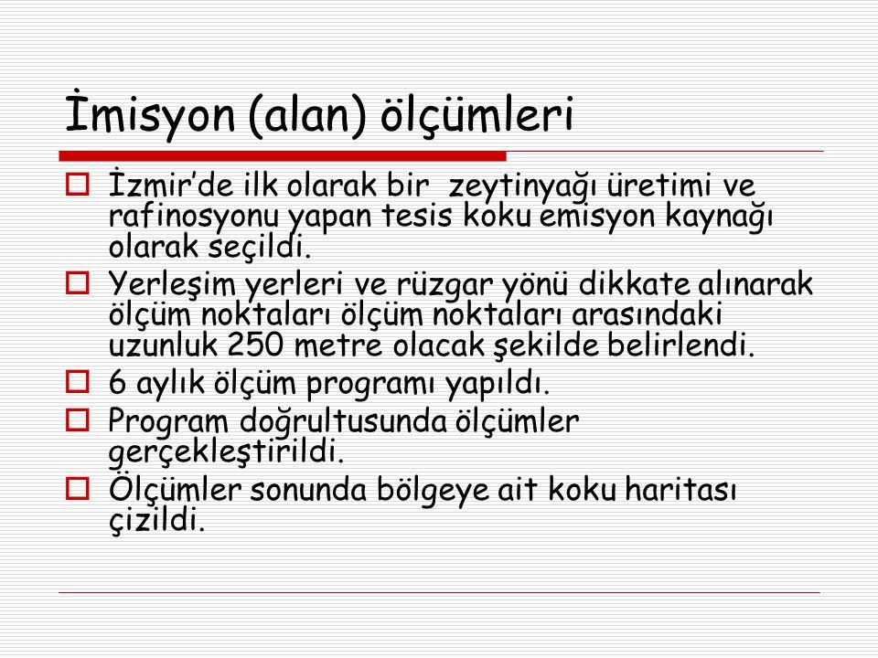 İzmir'de ilk olarak bir zeytinyağı üretimi ve rafinosyonu yapan tesis koku emisyon kaynağı olarak seçildi.