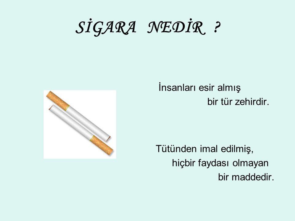 SİGARAYLA İLGİLİ DUVAR YAZILARI Sigara içen ihtiyarlamaz.