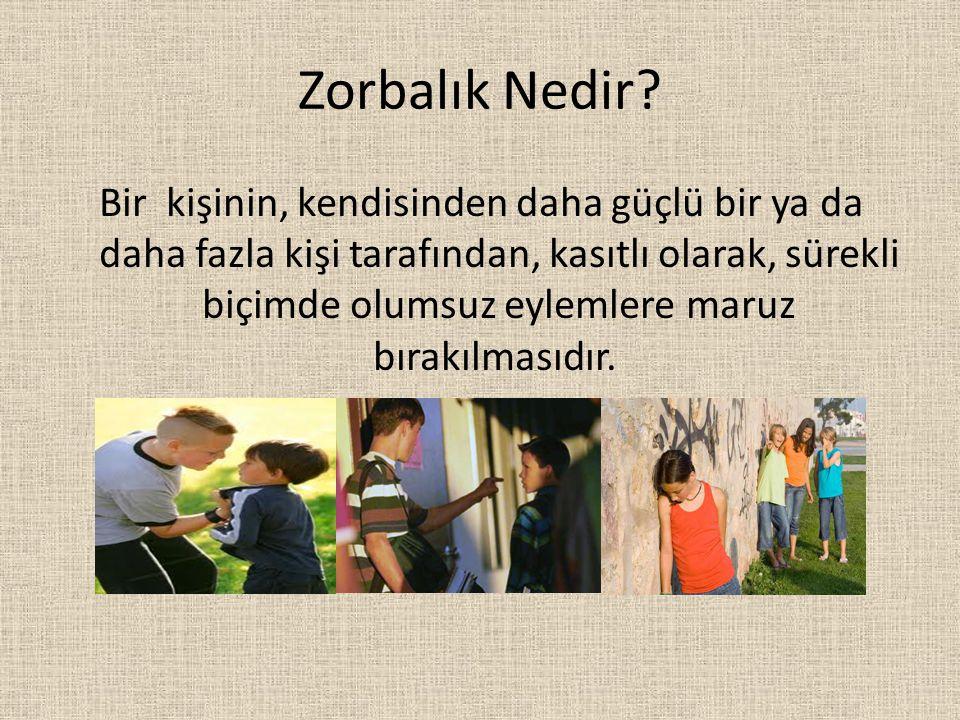 Zorba- Mağdur- İzleyen