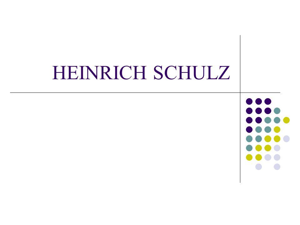 HEINRICH SCHULZ