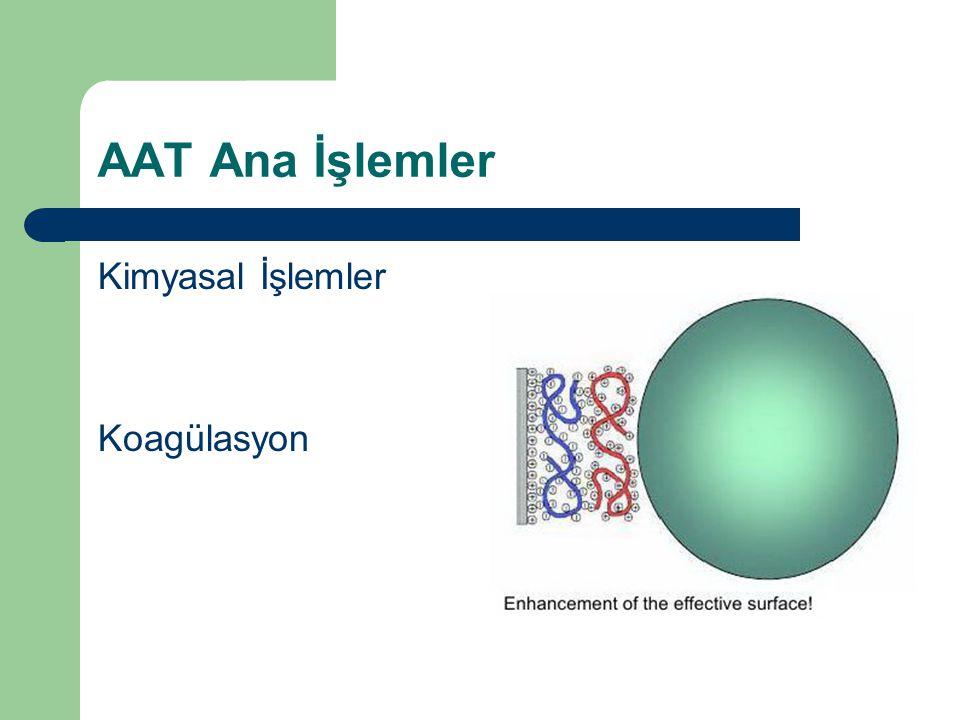 AAT Ana İşlemler Kimyasal İşlemler Koagülasyon