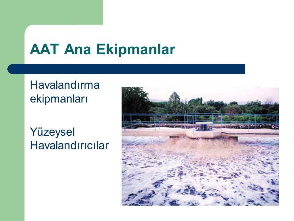 AAT Ana Ekipmanlar Havalandırma ekipmanları Yüzeysel Havalandırıcılar