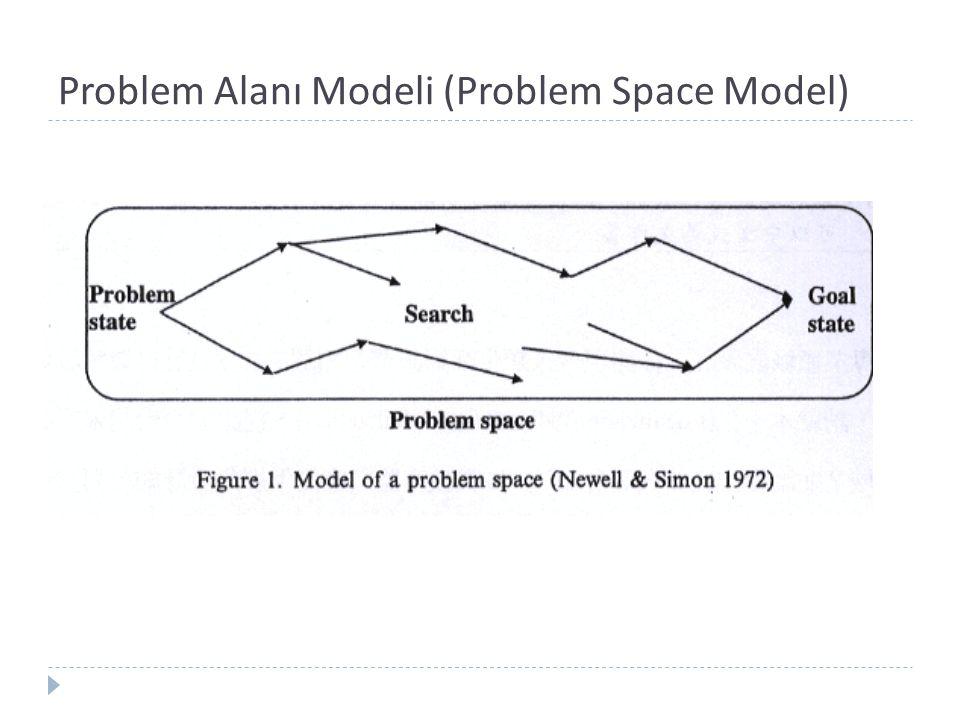 Problem Alanı Modeli (Problem Space Model)