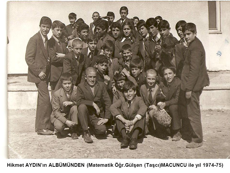 Atila DOSTU'nun ALBÜMÜNDEN yıl 1976-77)