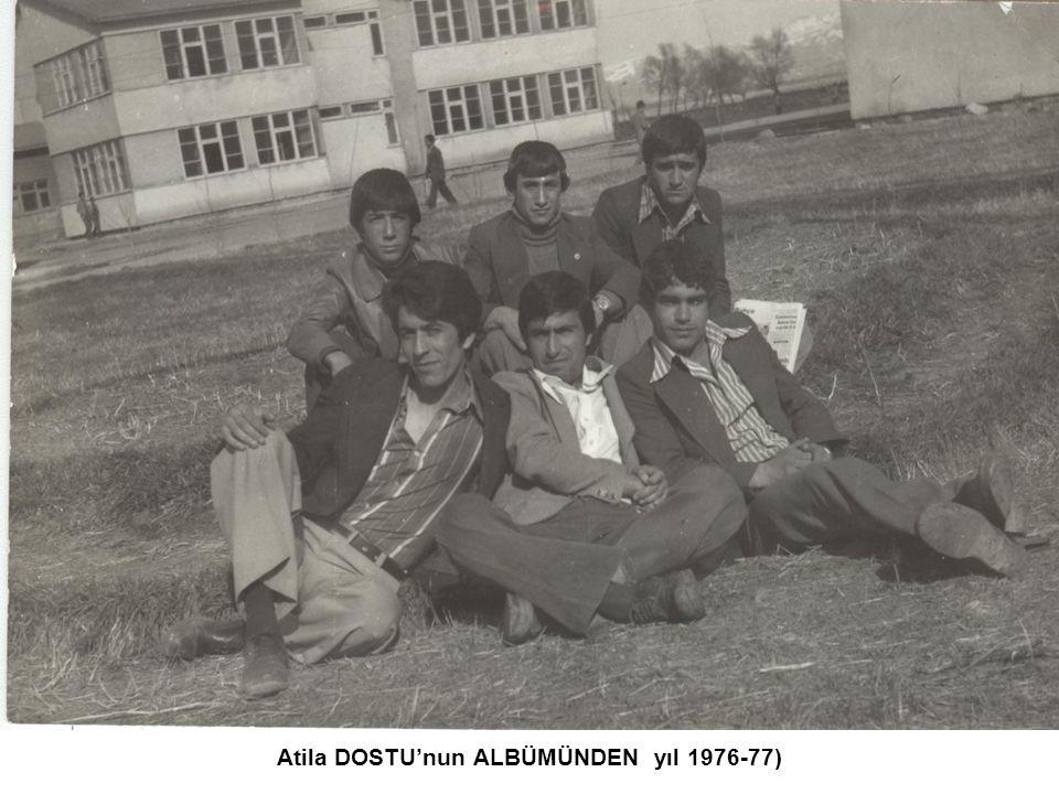 Recep DELİCE'nin ALBÜMÜNDEN (Ed.Öğrt.Yusuf KILİ ile yıl 1976-77)
