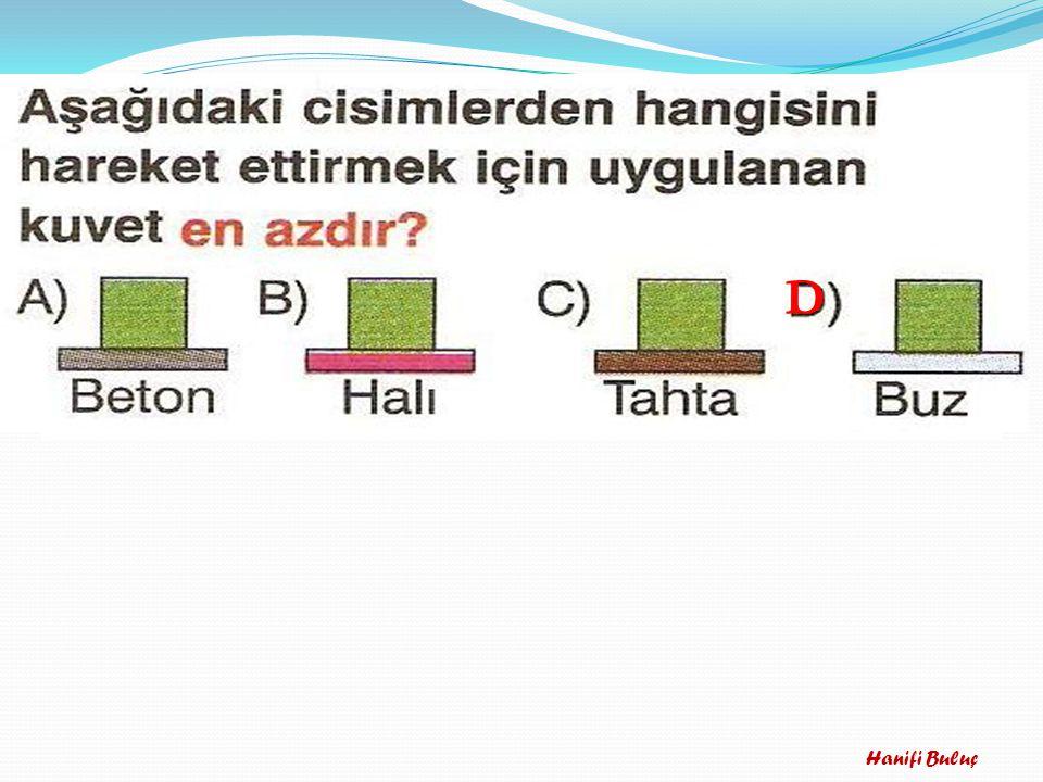 11-Aşağıdaki maddelerden hangisinde sesin yayılma hızı en fazladır?? A) Tahta B) Su C) Demir D) Hava C) Demir B C D