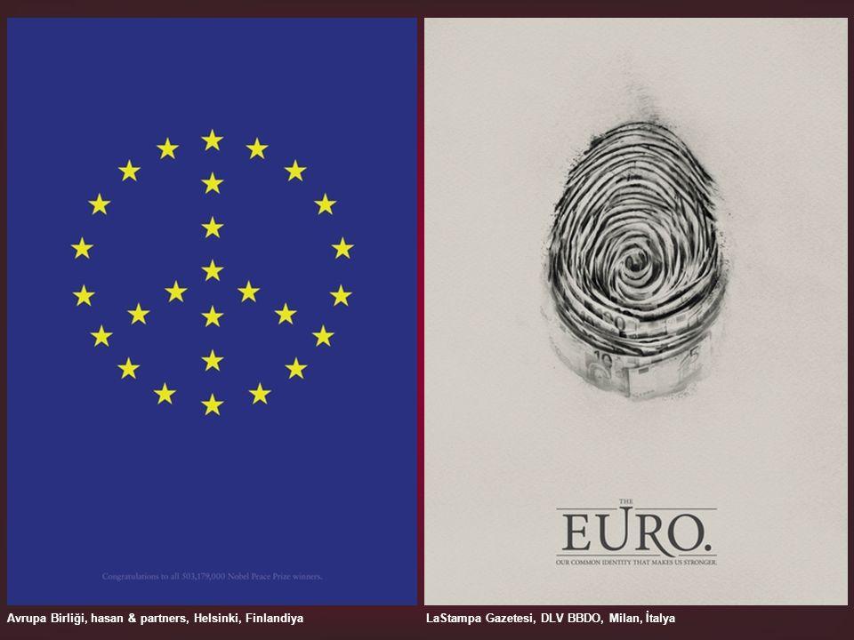 Avrupa Birliği, hasan & partners, Helsinki, FinlandiyaLaStampa Gazetesi, DLV BBDO, Milan, İtalya