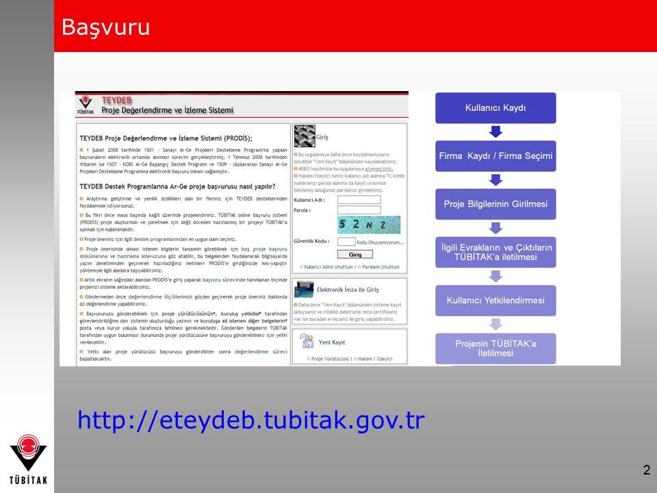 2 Başvuru 2 http://eteydeb.tubitak.gov.tr