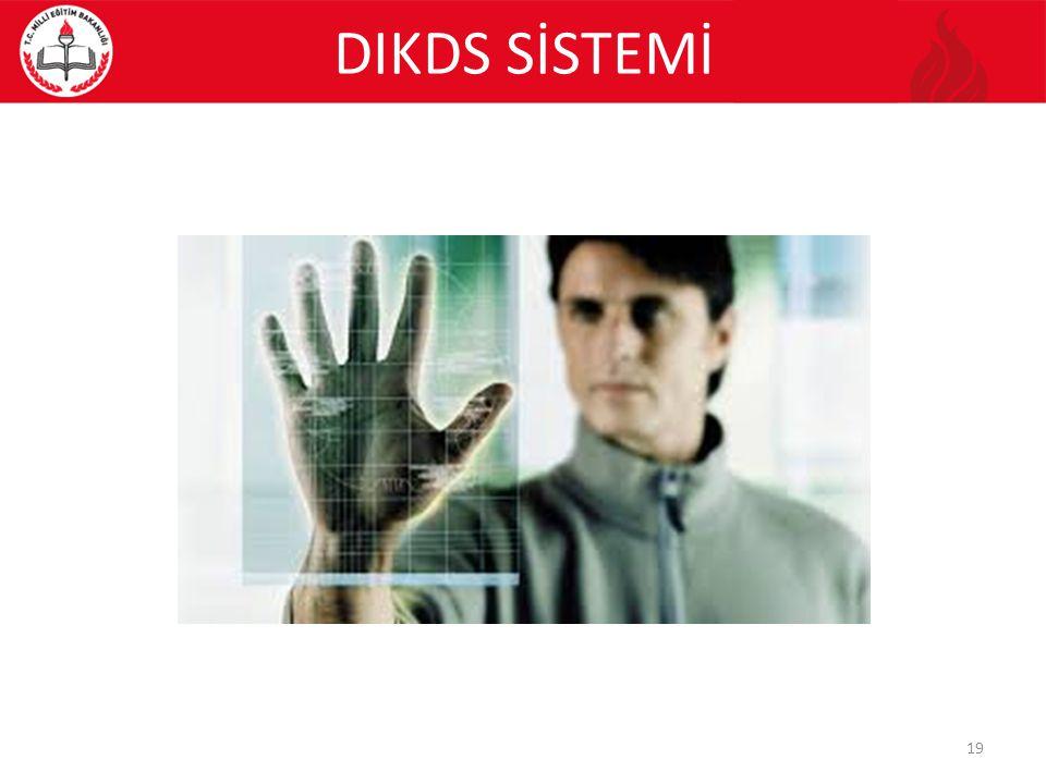 DIKDS SİSTEMİ 19