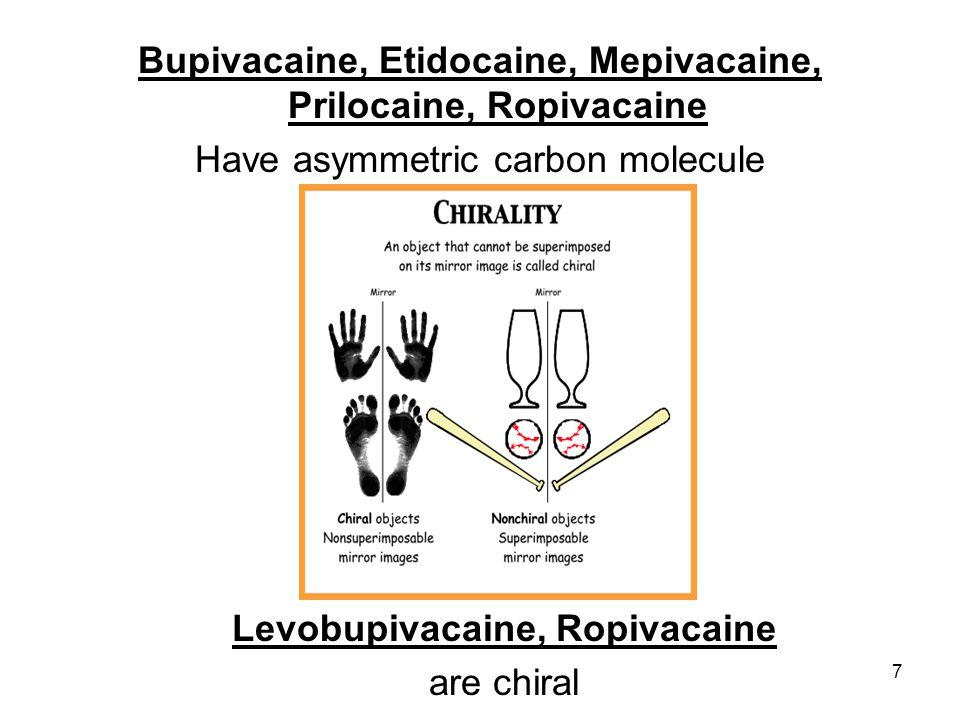 Levobupivakain-KVS toksisitesi 63 y, prostatektomi, genel anestezi Yanlışlıkla IV 125 mg Levobupivakain 5 dk sonra hipotansiyon, hafif bradikardi (55/dk) Adrenalin bolus, noradrenalin inf Operasyon sorunsuz tamamlanmış!
