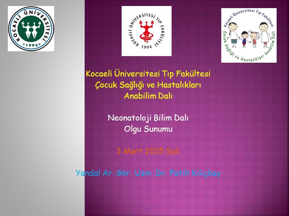 Dr Fatih Kılıçbay