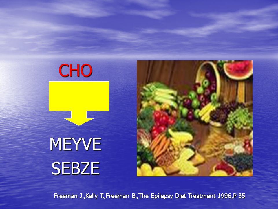 CHOMEYVESEBZE Freeman J.,Kelly T.,Freeman B.,The Epilepsy Diet Treatment 1996,P 35