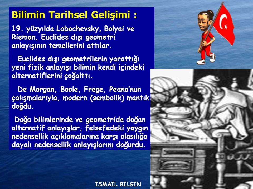www.ismailbilgin.com Bilim Nasıl Oldu da Felsefenin Konusu Oldu.