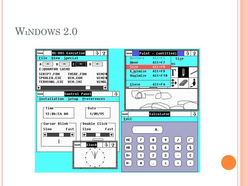 W ıNDOWS 2.0
