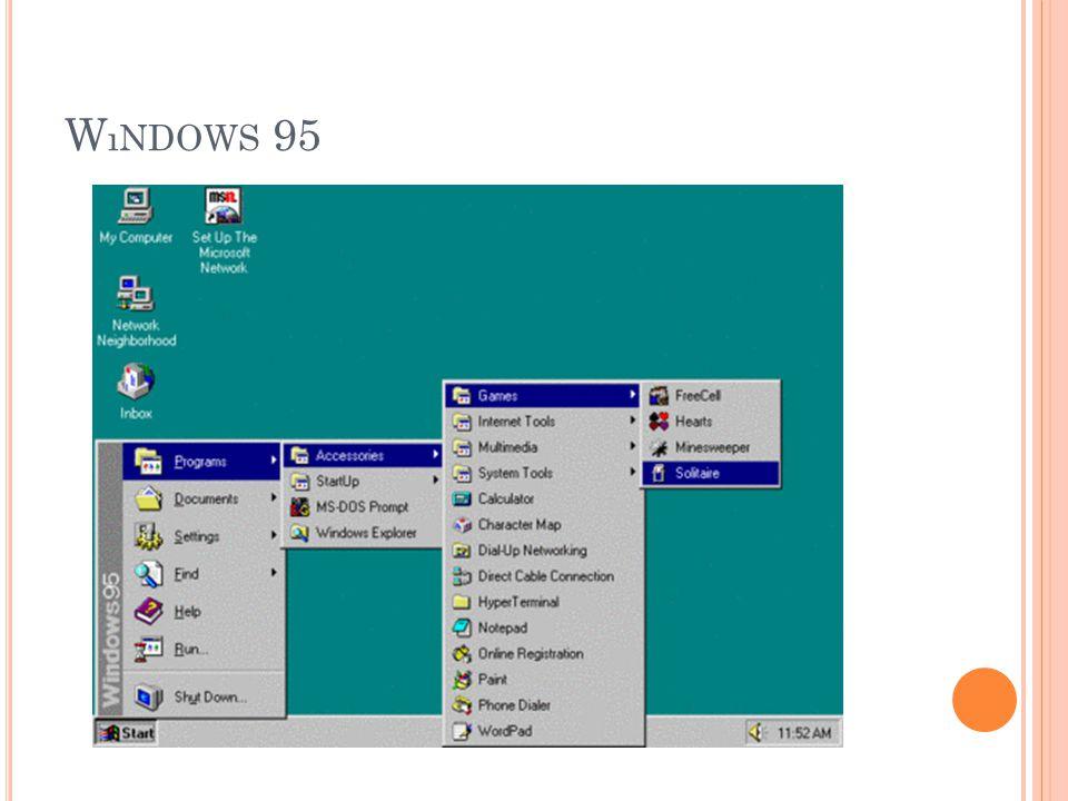 W ıNDOWS 95