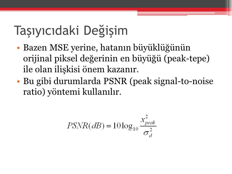 JPEG Dosyalarda Steganaliz DCT (Discrete Cosine Transform): ▫DCT; piksel değerlerinin -128 ile 127 arasında çalışması esasına dayandığı için öncelikle orijinal görüntü piksellerinden 128 değeri çıkartılır.