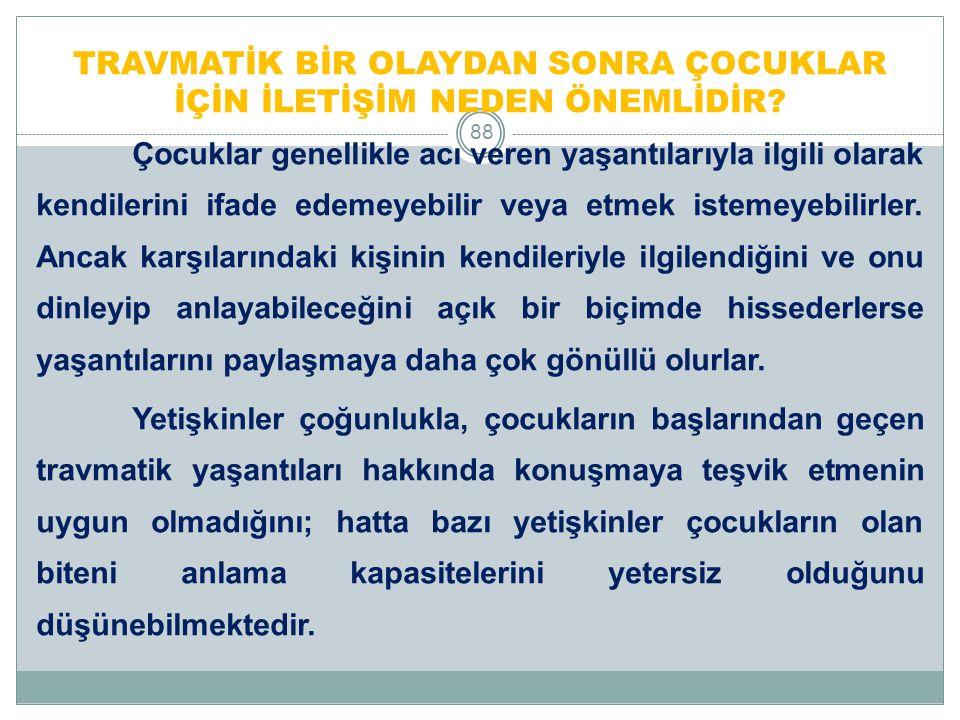 ÇOCUKLAR NEDEN KONUŞMAK İSTEMEZLER.89 1.