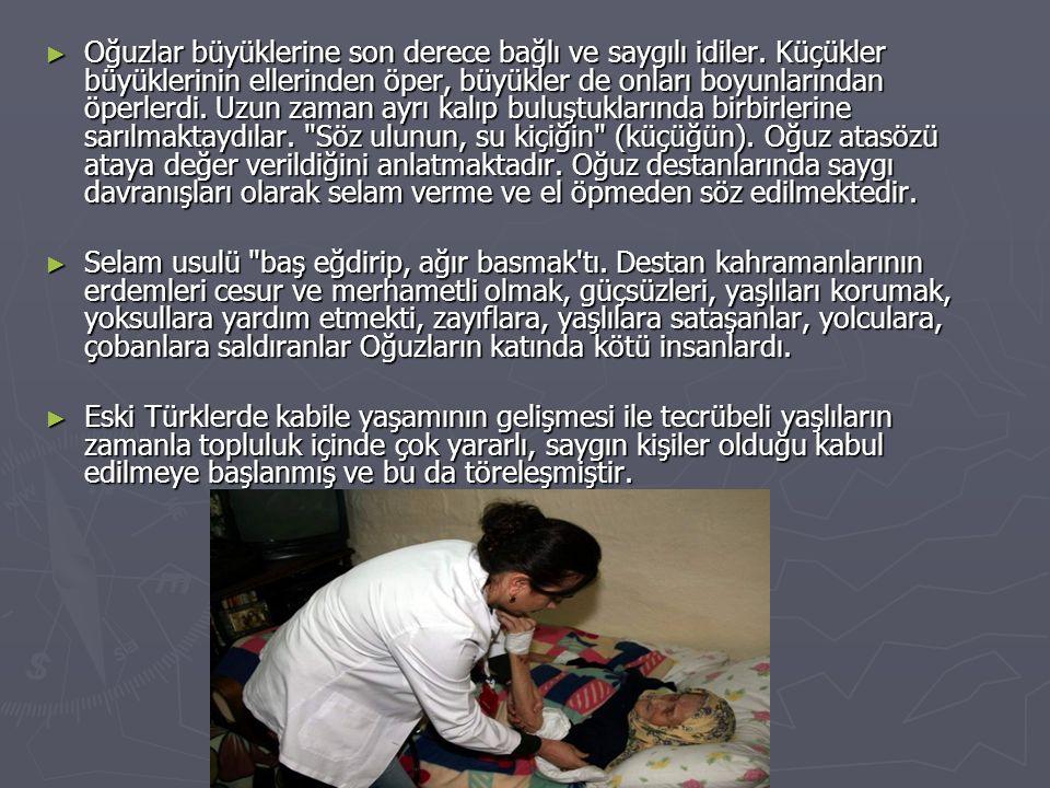 ► Türklerde sosyal yardımla ilgili inanç ve geleneklerin öteden beri varolduğu anlaşılmaktadır.