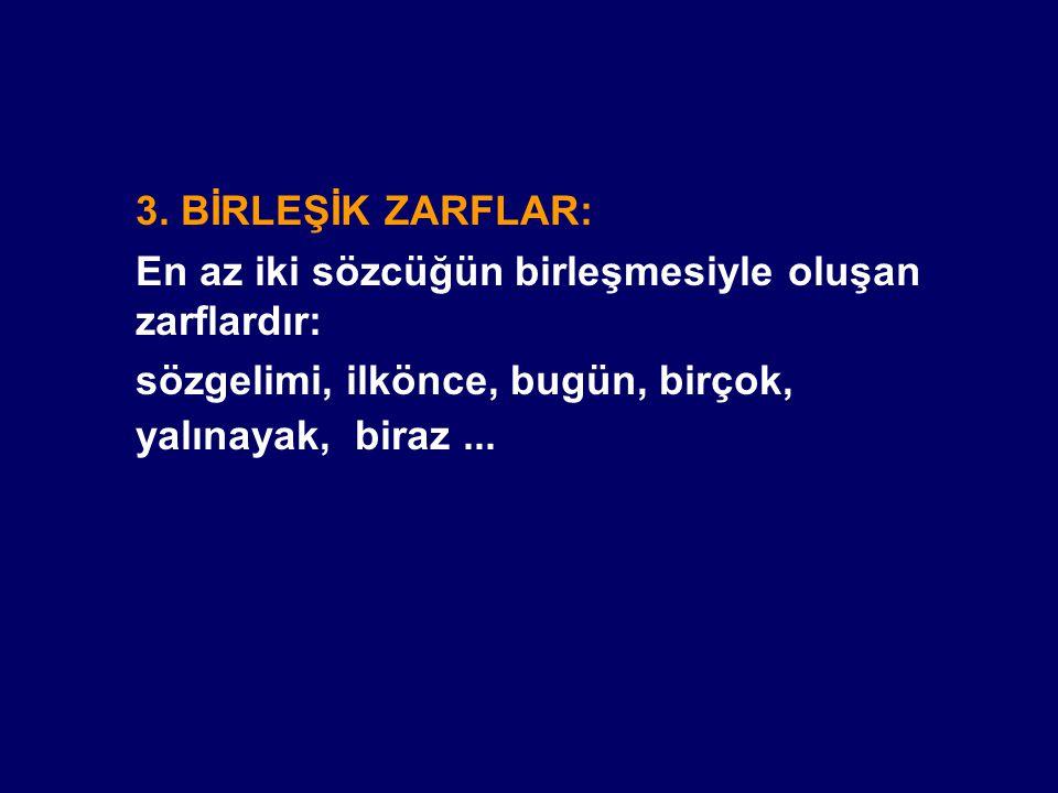 KONU TESTİ (ZARFLAR)
