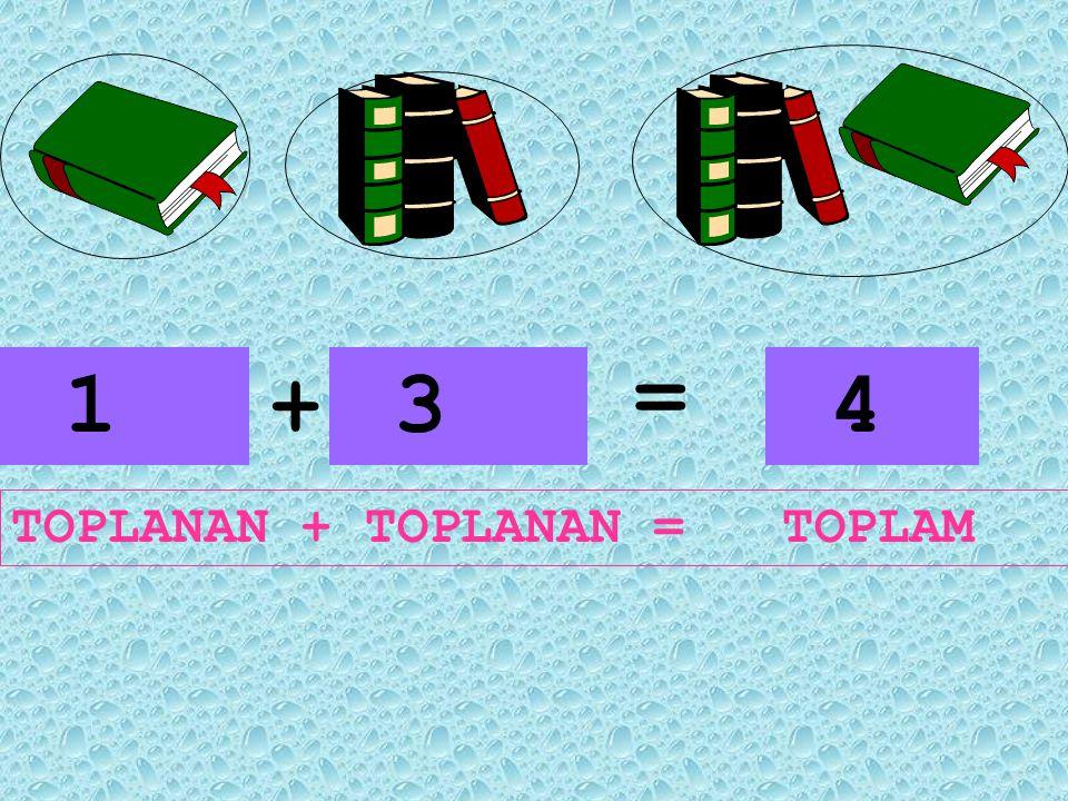 1 ayıcık ile 1 ayıcığın toplamı 2 ayıcık eder. 1 ayıcık artı 1 ayıcık 2 ayıcık eder.