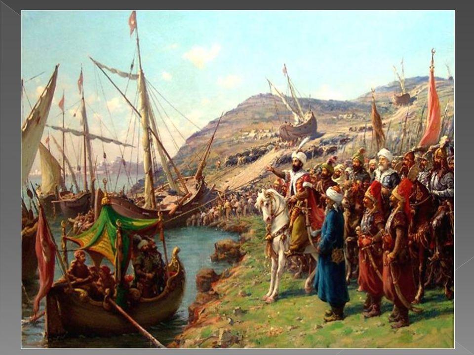 Sultan Mehmed devrinde ehemmiyet kesbetmeye başlayan Osmanlı donanmasıAkdeniz'de en kuvvetli donanması olan Venedik cumhuriyeti donanmasından fazla