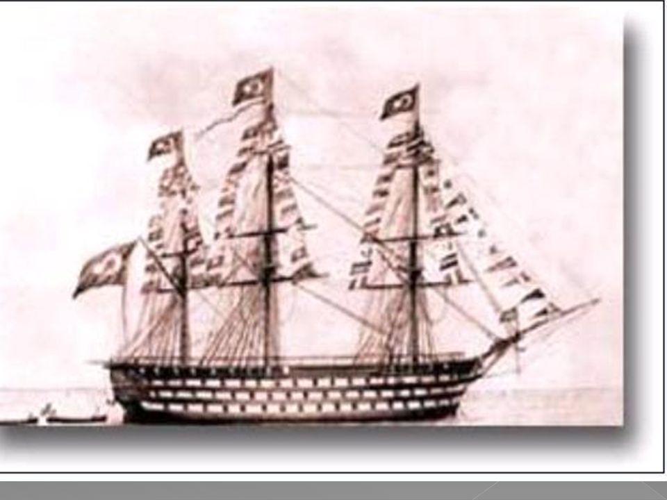  12. Kapak veya Kaypak  İki ambarlı harp gemilerinden olup güvertesinde ve her bordasında iki sıra topu vardı. 80-110 topu bulunurdu. 800- 1000 müre