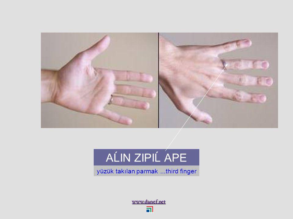 www.danef.net A Ḣ OMBEŠIQU küçük parmak...the little finger