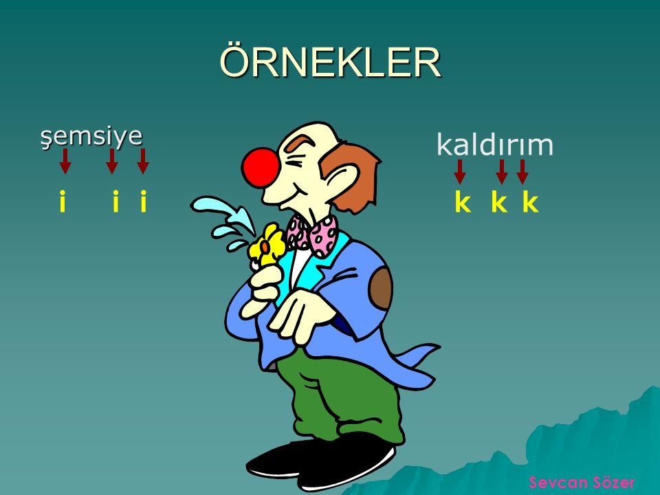 BÜYÜK ÜNLÜ UYUMU Türkçe'de bir kelimenin birinci hecesinde kalın bir ünlü (a,ı,o,u) bulunuyorsa, diğer hecelerdeki ünlüler de kalın olur. Türkçe'de bi