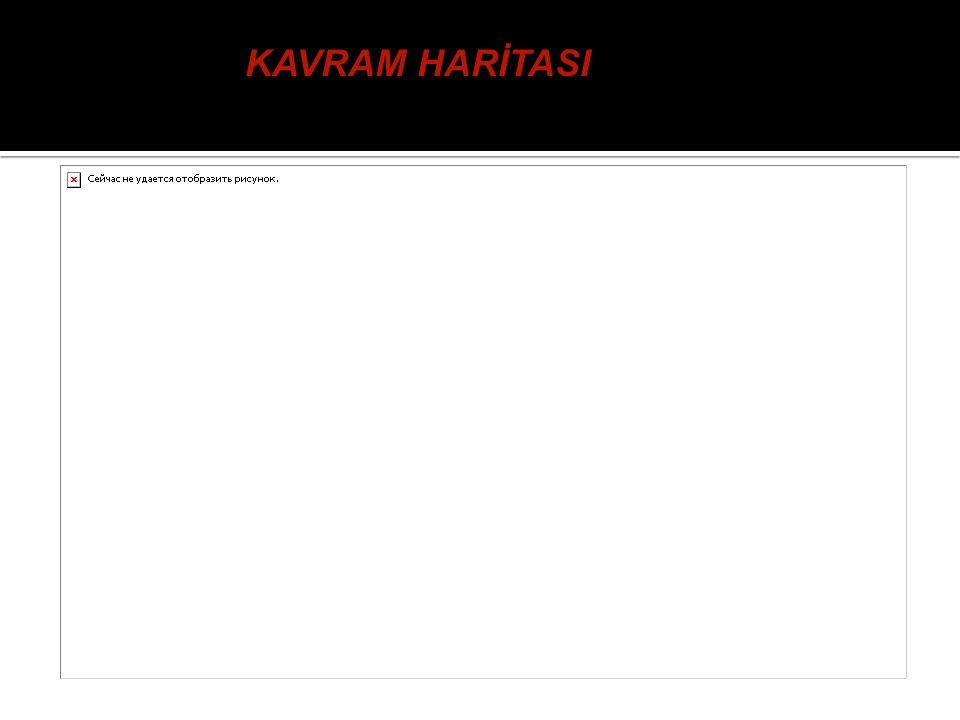 KAVRAM HARİTASI