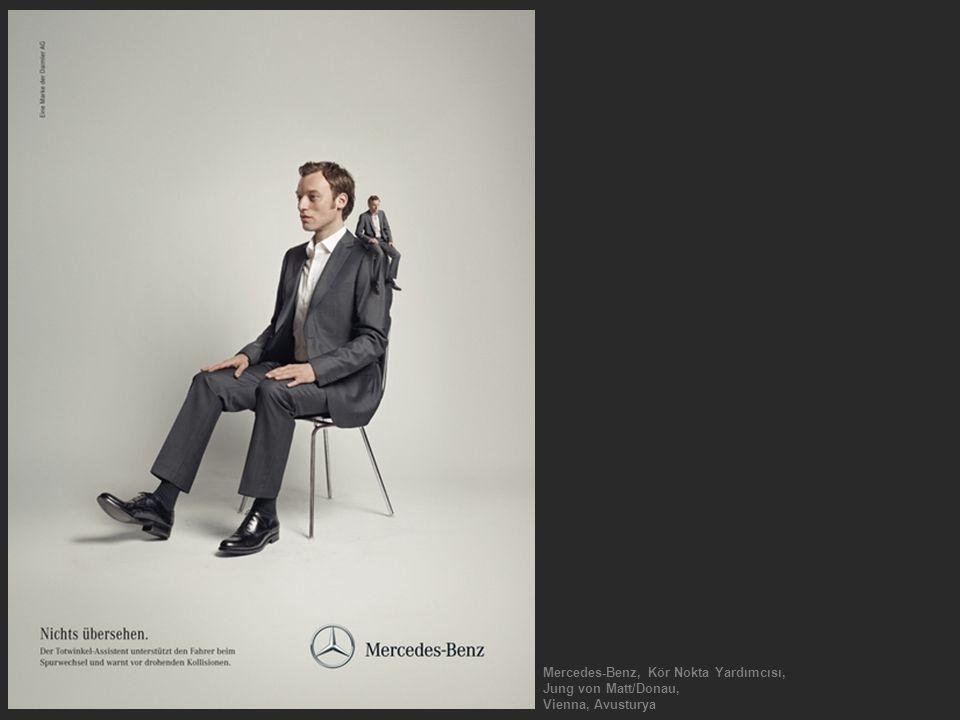 Mercedes-Benz, Kör Nokta Yardımcısı, Jung von Matt/Donau, Vienna, Avusturya