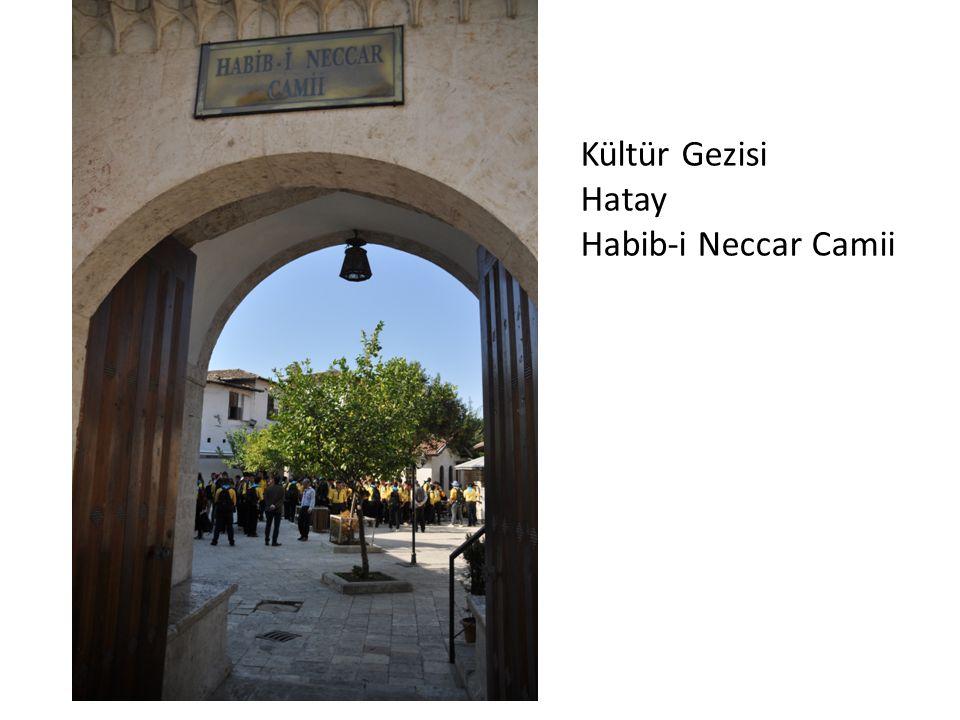 Kültür Gezisi Hatay Habib-i Neccar Camii