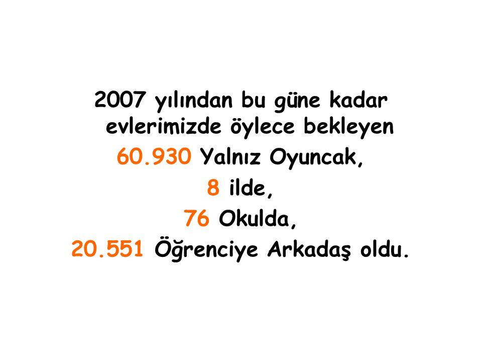 Yalnız Oyuncaklar 8-9 Haziran'da Denizli 'de Of'da Erzurum'da Karne Hediyesi Oluyor..