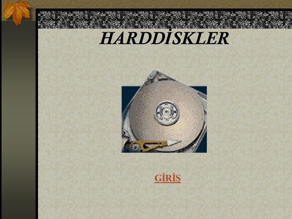 Şok koruma sistemi Hard diskler hassas cihazlardır.