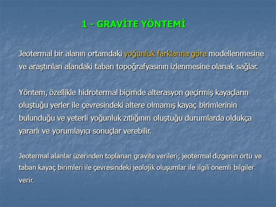 (Yüksel, 2011; düzenlenmiş) Şekildeki gravite anomalisine göre A bölgesi bir temel yükselimini göstermektedir.