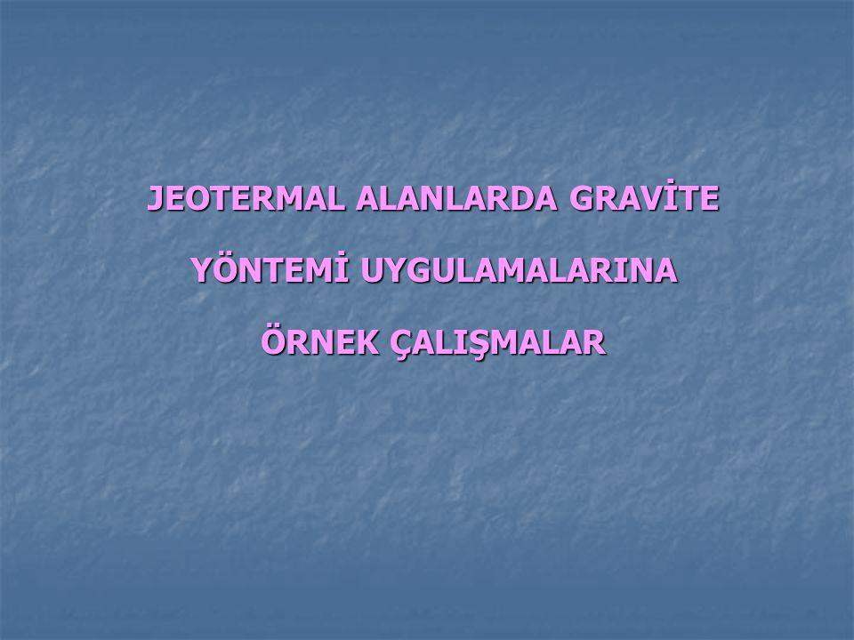 AFYON-SANDIKLI HÜDAİ JEOTERMAL ALANI GRAVİTE- MANYETİK UYGULAMALARI (F.