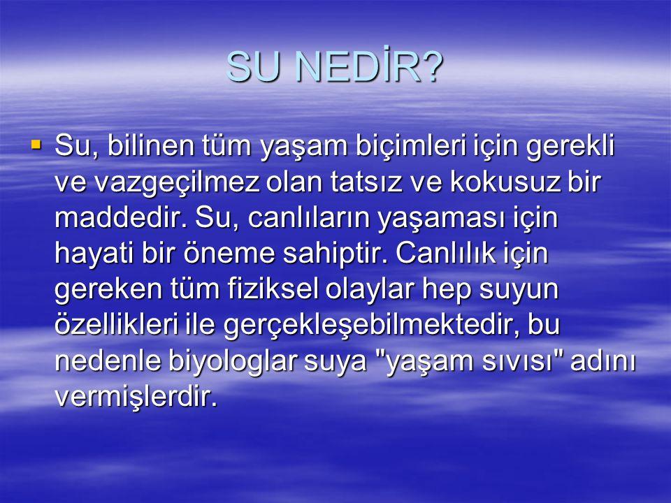 SU KAŞİFLERİ