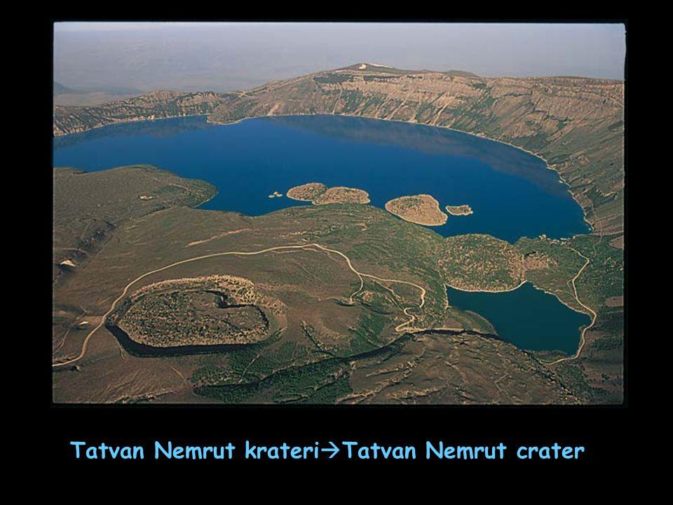 Tatvan Nemrut krateri  Tatvan Nemrut crater
