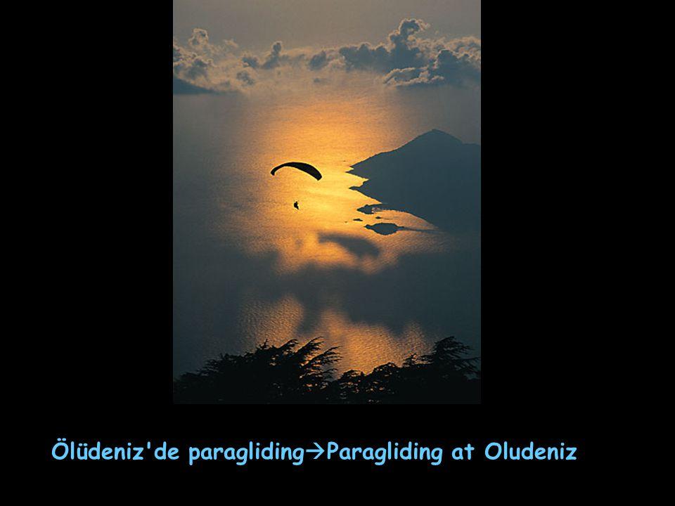 Ölüdeniz'de paragliding  Paragliding at Oludeniz