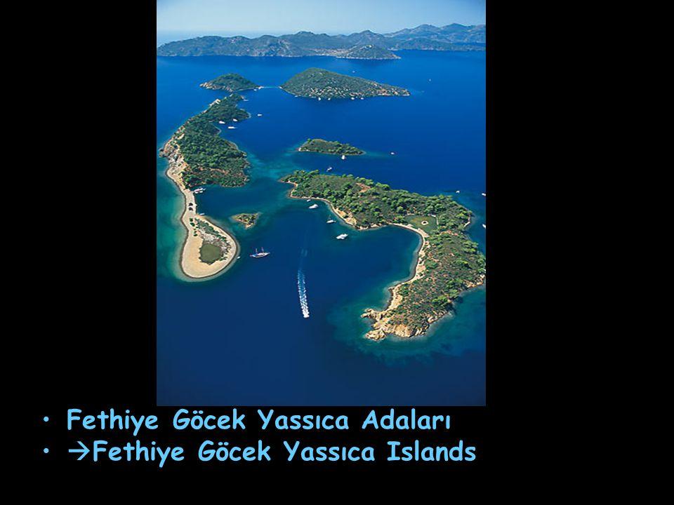 Fethiye Göcek Yassıca Adaları  Fethiye Göcek Yassıca Islands