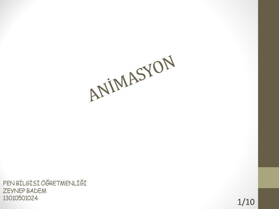 ANİMASYON NE İŞE YARAR.Animasyonlar sunumu hoş göstermek için tasarlanmışlardır.