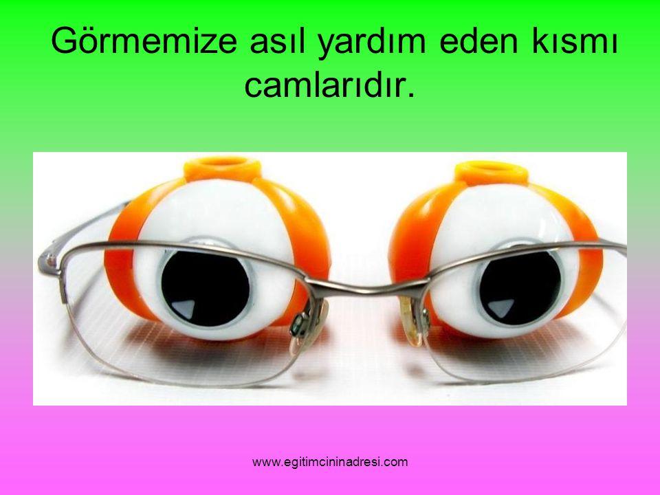 Başka nerelerde gözlük kullanılır? www.egitimcininadresi.com